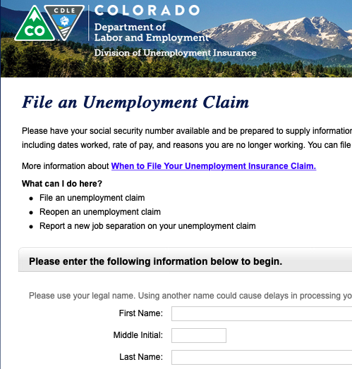 Government Shutdown Leads To Unemployment Claims Food Benefit