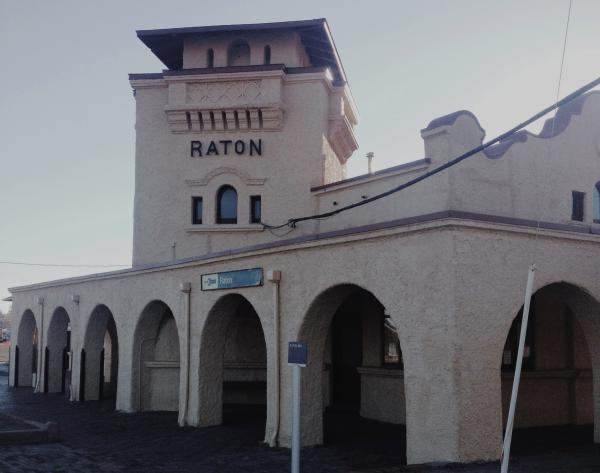 Amtrak in Raton, NM