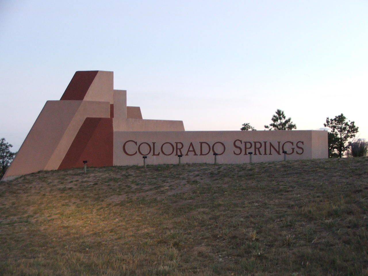 Why is the n in the colorado springs welcome sign upside down krcc the colorado springs welcome sign just south of the n gate blvd exit on i 25 in colorado springs malvernweather Choice Image