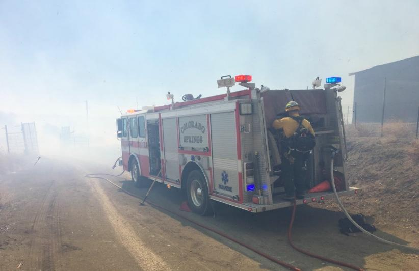 Evacuations ordered due to wildland fire on Fort Carson
