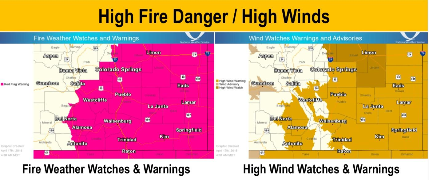 Fires Colorado Map.Critical Fire Weather Brings Multiple Starts And Evacuations In
