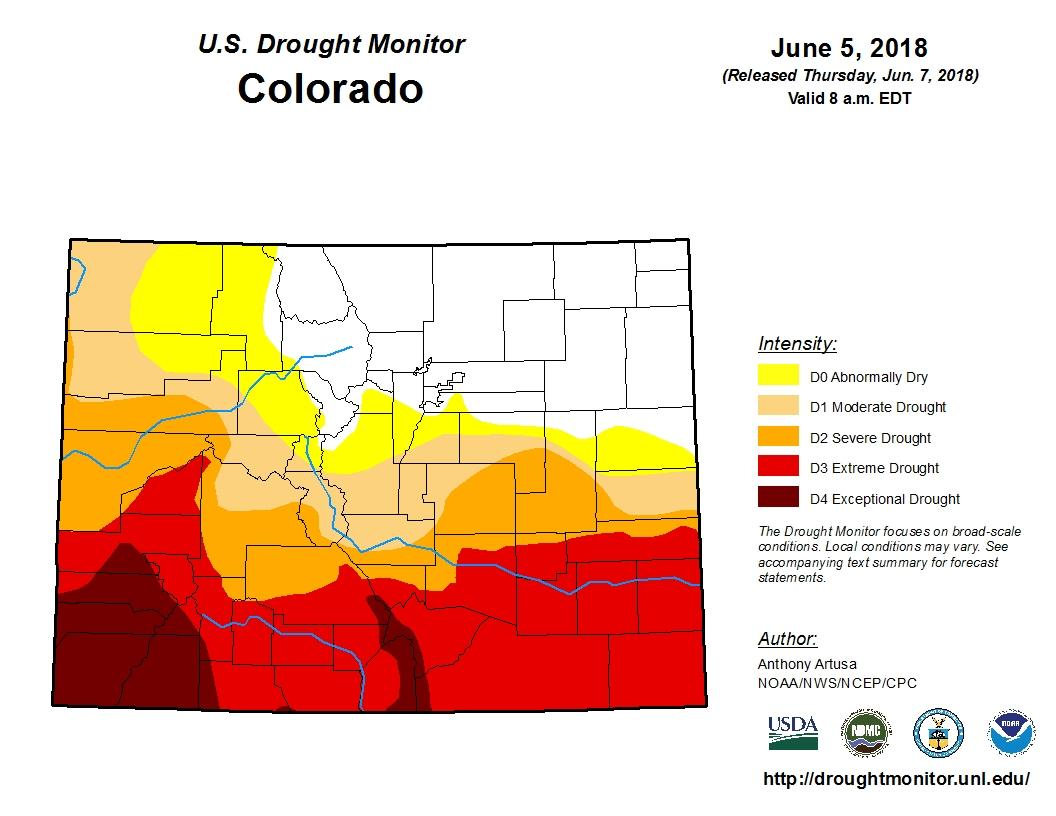 Colorado Springs Manitou Spring Issue Fire Bans As Drought Grips