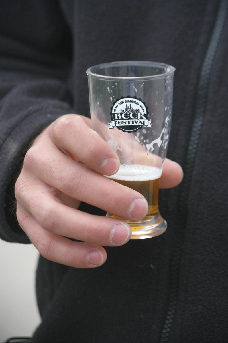Attendees were given a souvenir taste testing glass, and had the chance to try over 97 beers.