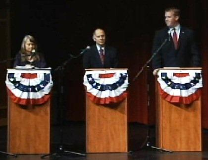 The candidates running for Congress in southern Illinois' 12th US House District met for another debate on Oct 10. in Belleville.