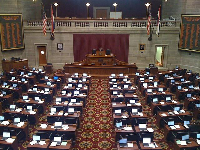Missouri House of Representatives Chamber