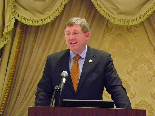 Oklahoma Congressman Frank Lucas will speak at the dinner on Lincoln Day.