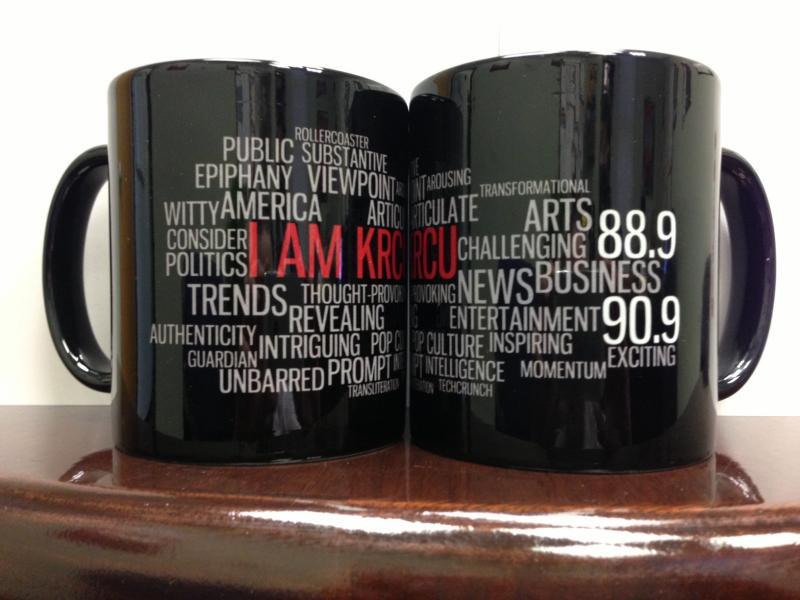 I AM KRCU ceramic mug