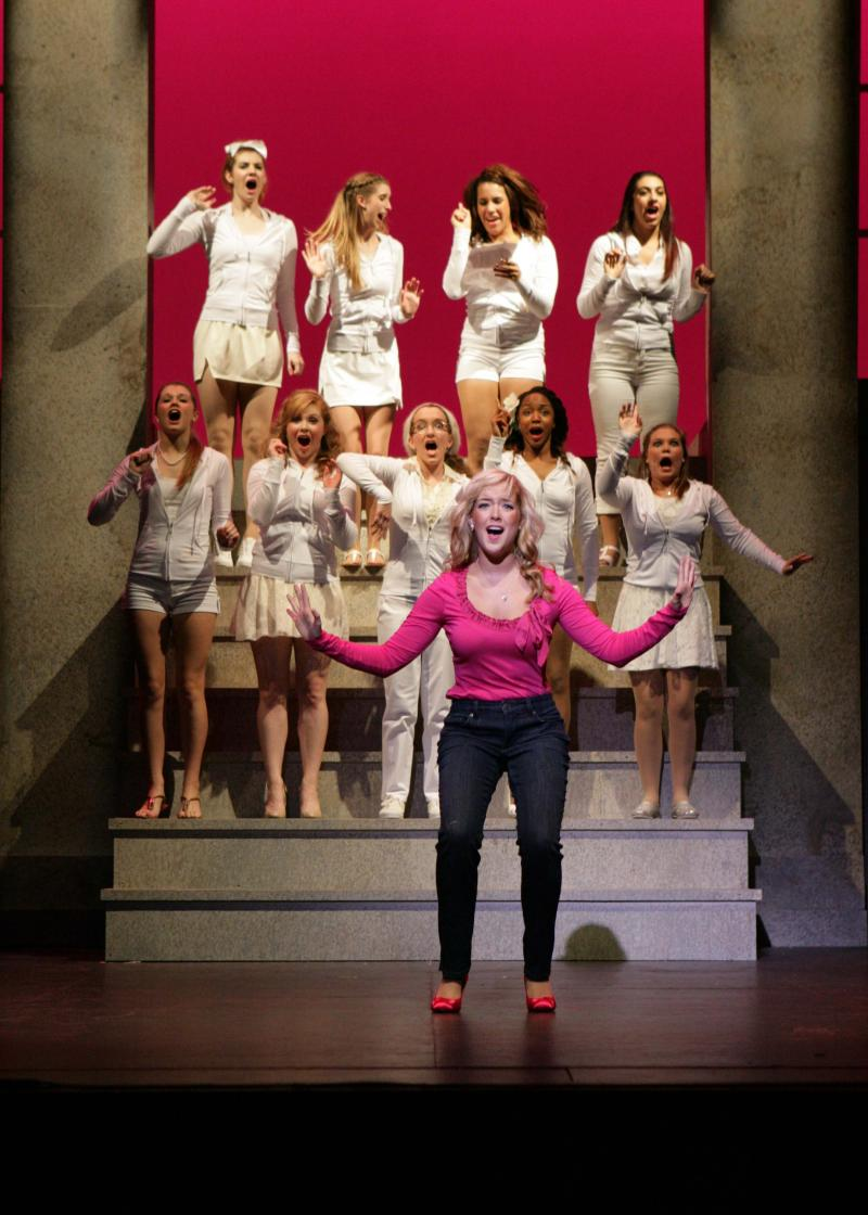 Legally Blonde will premiere at the Bedell Performance Hall.