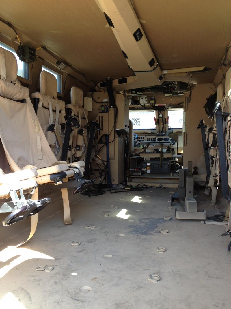 Inside the MRAP