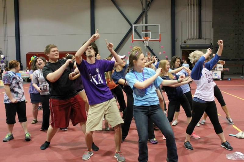 Participants at Relay For Life
