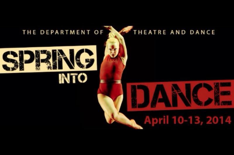 Spring Into Dance poster