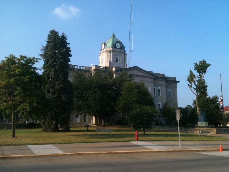 Cape Girardeau County Courthouse in Jackson