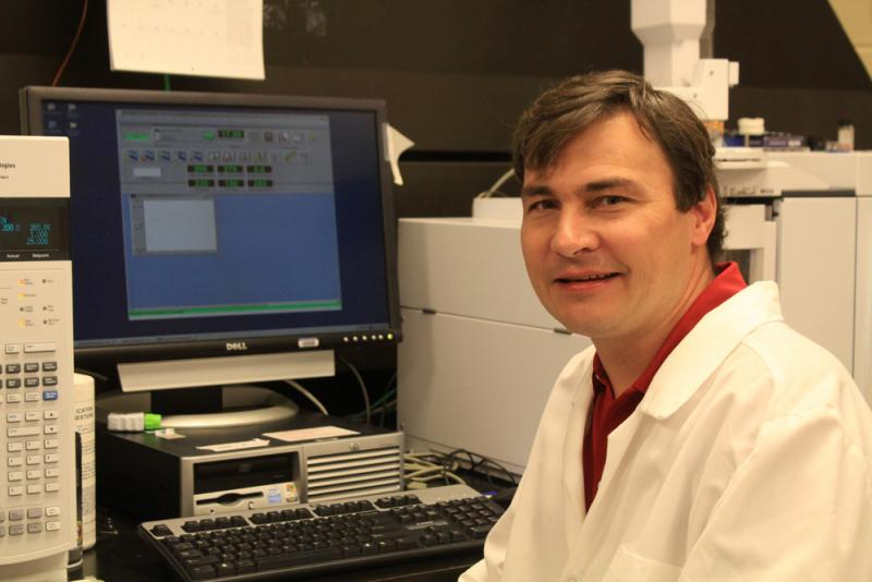 A professor of veterinary medicine, Hans Coetzee helps run a veterinary diagnostic lab that uses forensic technology.