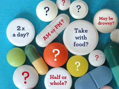 Medications can be confusing.