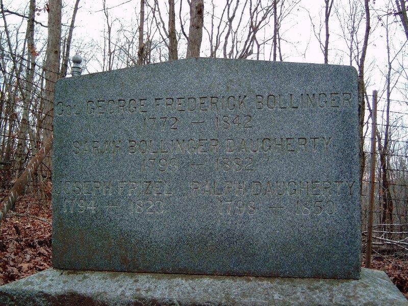 George Frederick Bollinger gravesite