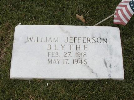 William Blythe drowned in a drainage ditch outside of Siketon in 1946.