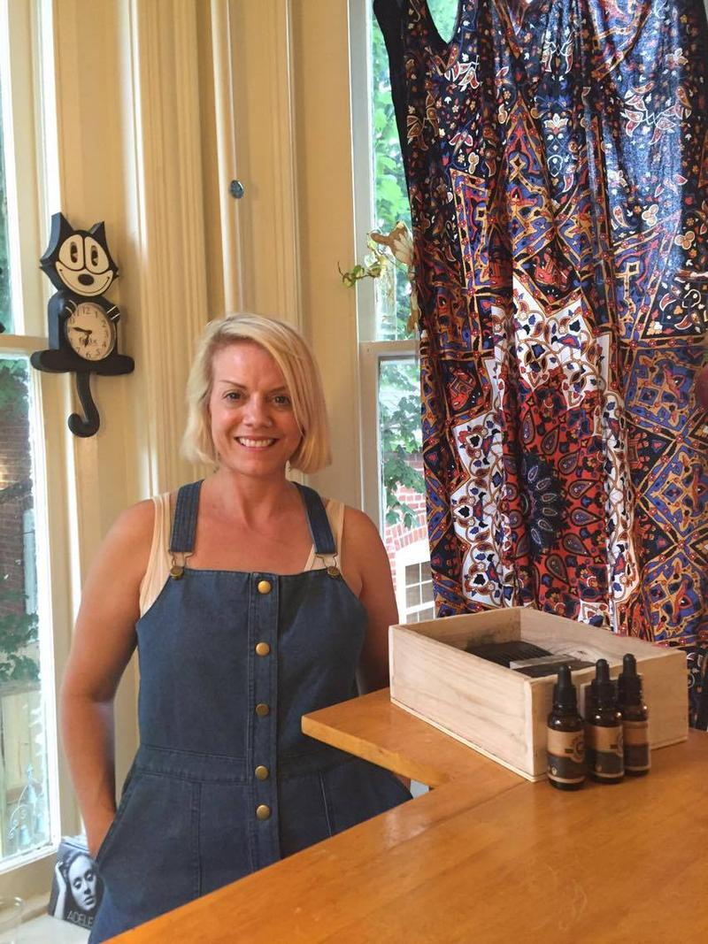 Laurie Everett is the owner of local hotspots Annie Laurie's and Mother Earth in downtown Cape Girardeau. The shops were two of many businesses that kept their doors open later for First Friday.