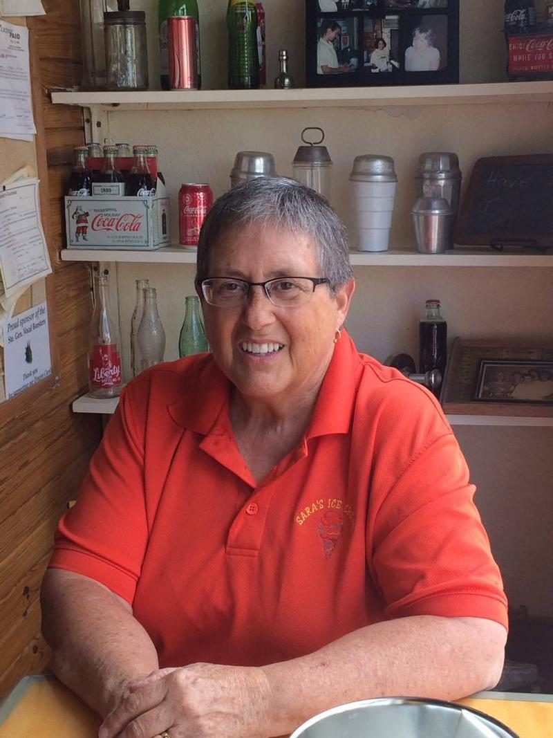 Sara Menard is the owner of Sara's Ice Cream in Ste.Genevieve.