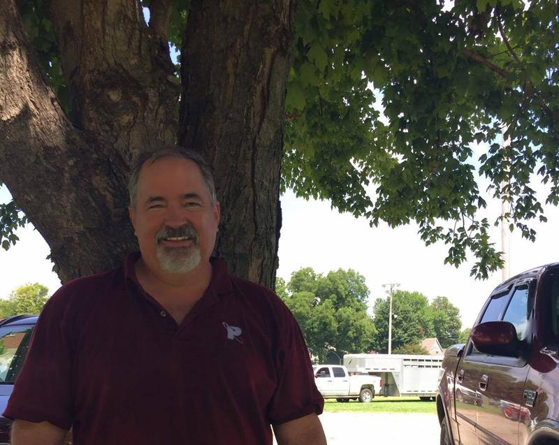 Community member Frank Glueck attends the New Hamburg Picnic.