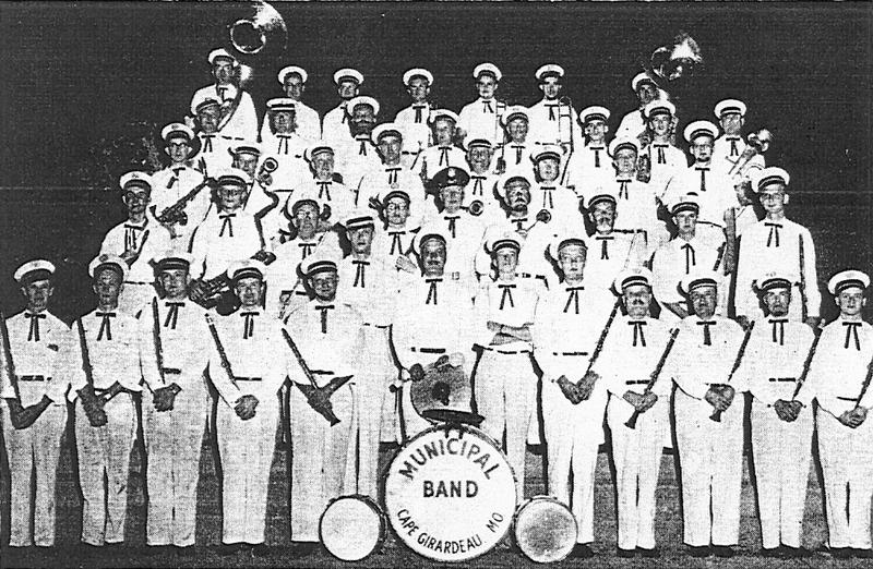 "The Cape Girardeau Municipal Band was first formed in 1900. The group was originally called ""Schuchert's Cornet Band."""