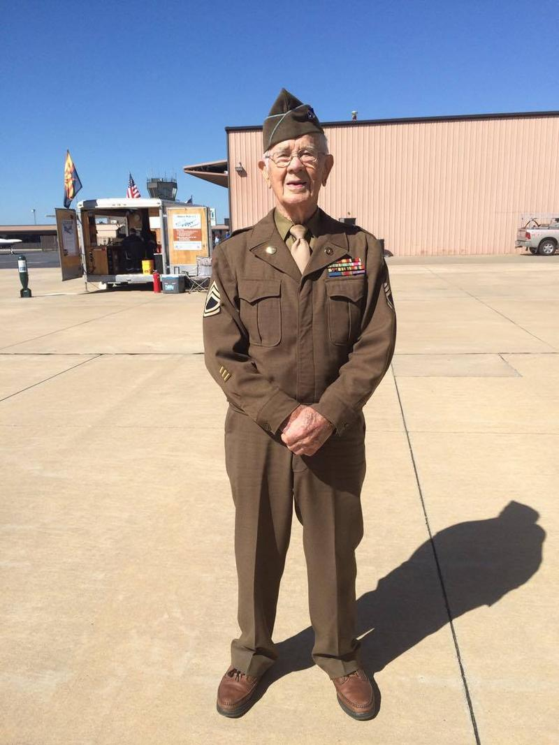 Floyd Smith is a World War II veteran.