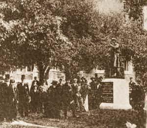 Grant monument dedication.