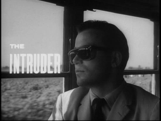 "William Shatner in screenshot from ""The Intruder"""