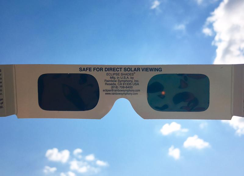 Eclipse viewing glasses should be approved by ISO standards to effectively protect the eye.