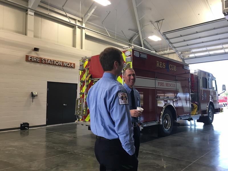 Inside Fire Station No. 4