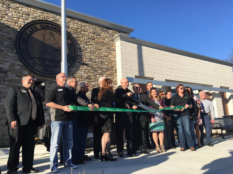 A ribbon-cutting ceremony for the new building took place on Mar. 2nd.