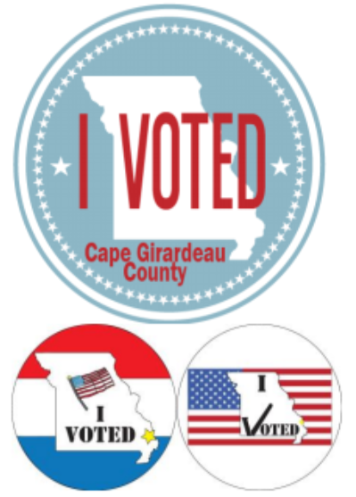 Winners announced for cape girardeau county i voted sticker design contest