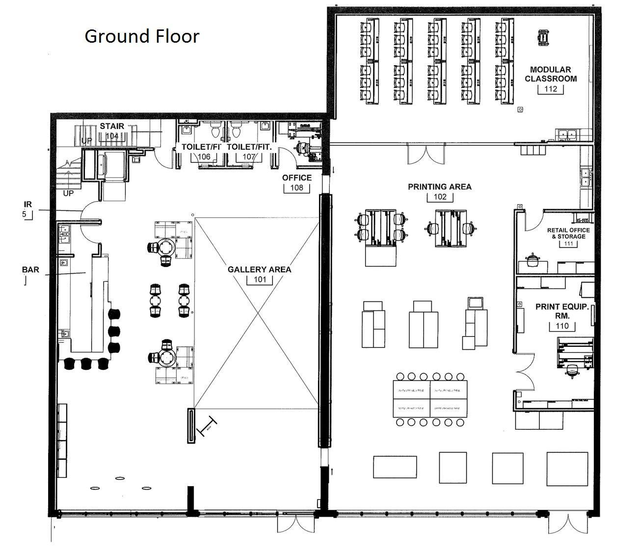 Catapult Creative House To Inspire Entrepreneurship Krcu Diagram Of A Floor Plans For First