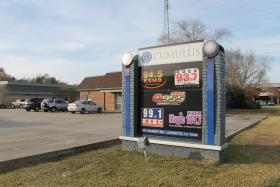 Broadcasting organizations such as Cumulus Media in Lafayette are required by law to air political ads without censorship of any kind, at the least applicable cost.