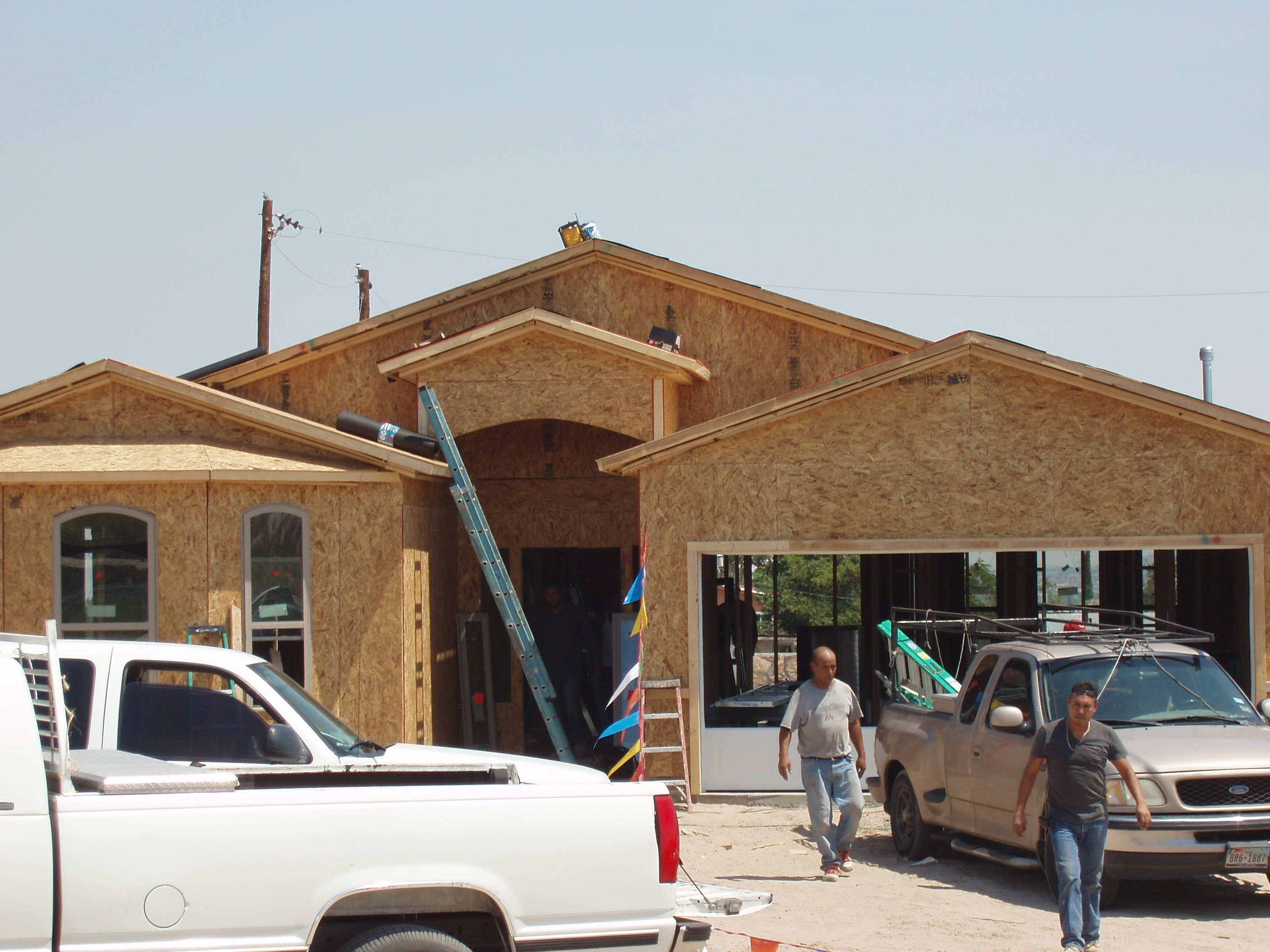 Workman Build New Home In Sunland Park That Was Financed With A USDA