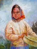 Tarahumara Girl by Carolyn Bunch