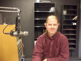 Fred Bugbee, percussion professor and organizer of the Contemporary Arts Festival