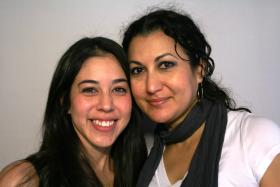 Stephanie Acosta and her mother, Maria Carillo