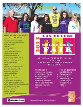 Las Cruces 2013 Volunteer Fair