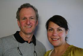 Dr. Jacob Heydemann and Anna Aleman