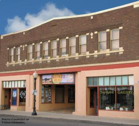 Silco Theatre In Downtown Silver City