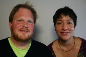 Ryan Otero and Virginia Lora