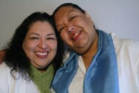 Estela Reyes and Candida Reyes