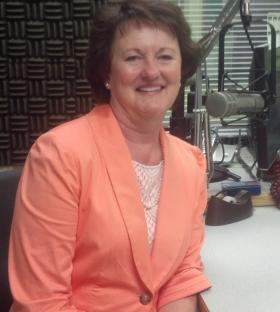 Karen Bailey, Vice President of US Bank and Director of Las Cruces Coats for Kids