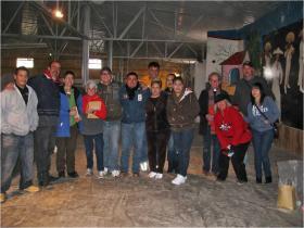 Palomas Christmas Shoe Box Project Volunteers