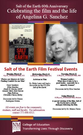 Salt of the Earth 60th Anniversary Celebrations at NMSU.