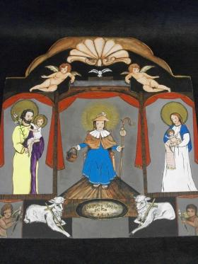 Religious art by Joseph Manuel Chavez from his website www.ArtedeChavez.com.