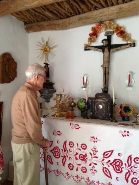 Taylor home altar.
