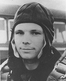 """A former factory worker turned cosmonaut, Yuri Gagarin became the first man in space on April 12, 1961. After returning, he was quoted as saying, """"Orbiting Earth in the spaceship, I saw how beautiful our planet is. People, let us preserve and increase this beauty, not destroy it!"""""""