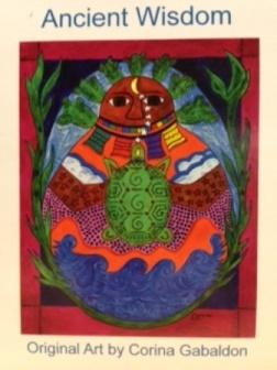 Ancient Wisdom, Original Art by Corina Gabaldón.