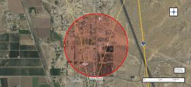 DONA ANA COUNTY OFFICIALS HAVE RELEASED AN EVACUATION MAP FOR THE HAZMAT EMERGENCY IN ANTHONY, N.M.